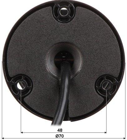 KAMERA IP DH-IPC-HFW1230SP-02 80B-BLACK - 1080p 2.8mm DAHUA