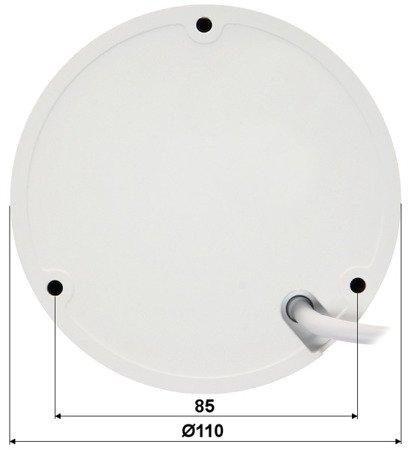 KAMERA WANDALOODPORNA IP DH-IPC-HDBW1531EP-S- 0360B - 5.0Mpx 3.6mm DAHUA