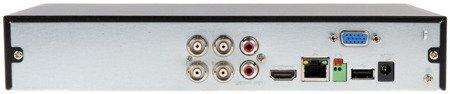 REJESTRATOR AHD, HD-CVI, HD-TVI, CVBS, TCP/IP DHI-XVR5104HS-X 4 KANAŁY DAHUA