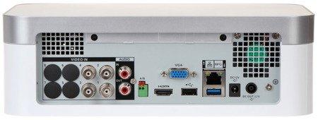 REJESTRATOR AHD, HD-CVI, HD-TVI, CVBS, TCP/IP DHI-XVR7104E-4KL-X 4 KANAŁY DAHUA