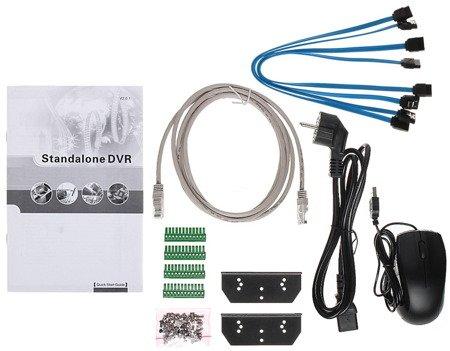 REJESTRATOR AHD, HD-CVI, HD-TVI, CVBS, TCP/IP DHI-XVR7408L 8 KANAŁÓW DAHUA