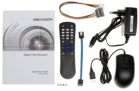 Zestaw Do Monitoringu IP Hikvision 4x Kamera 2.1 Mpx 1TB